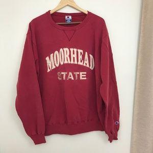 Vintage Champion Moorhead State Crewneck